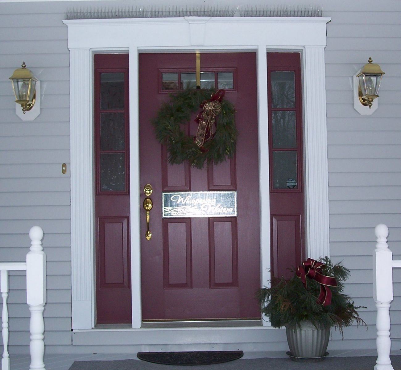 Whispering Waters Front Entrance for Full Body Healing